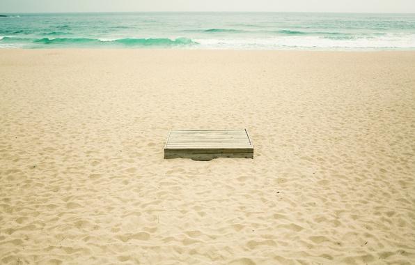 Picture sand, sea, beach, summer, water, photo, the ocean, box