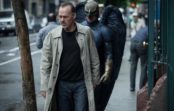 Picture wings, mask, costume, Birdman, Birdman, Michael Keaton, Michael Keaton