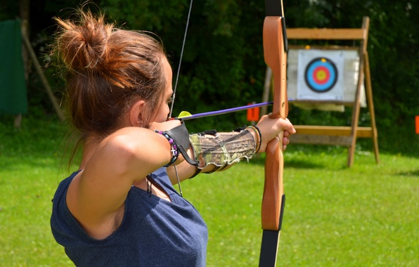 Picture arrow, shooting, archery