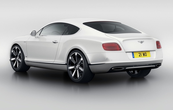 Picture Auto, Bentley, Continental, White, The Mans, Machine, Coupe