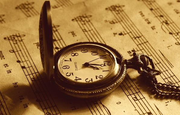 Picture macro, time, notes, photo, arrows, watch, Sepia, dial, different