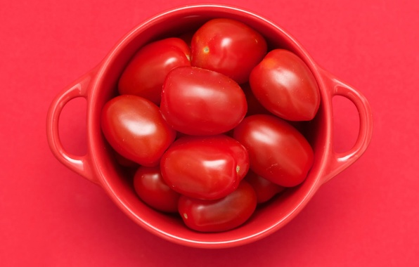 Picture Cup, tomatoes, Red cubed