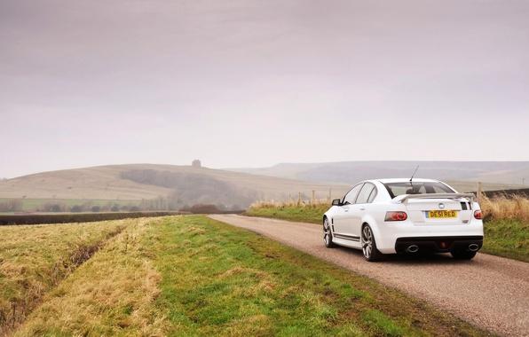 Picture machine, nature, fog, Vauxhall, VXR8