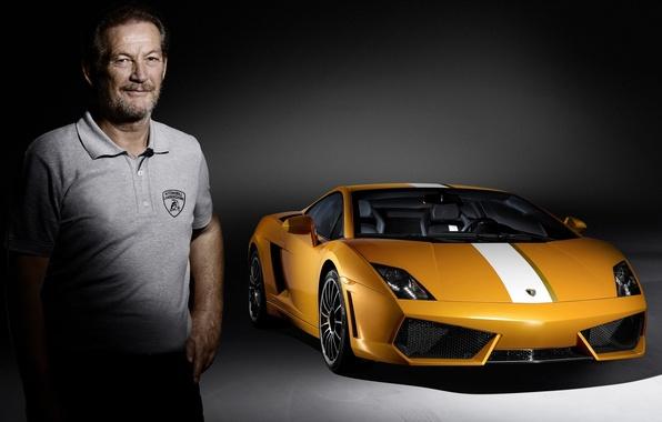 Picture Lamborghini, male, supercar, Gallardo, Lamborghini, Gallardo, Valentino Balboni, 550-2, Valentino Balboni, test pilot