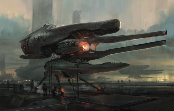Picture future, fiction, art, Sci-fi