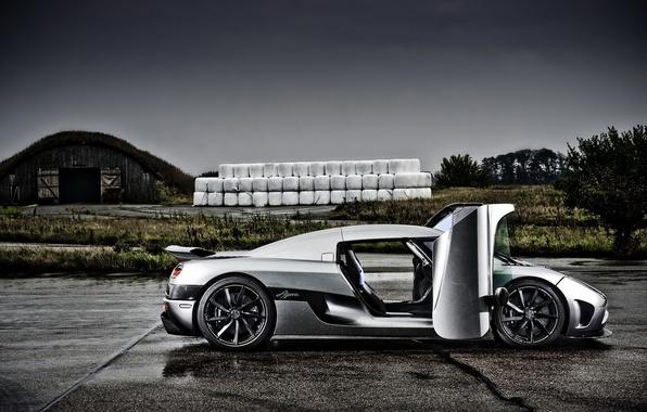 Picture auto, clouds, Koenigsegg, supercar, Agera, koenigseg, autowalls