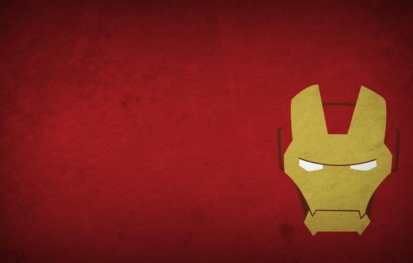 Picture figure, minimalism, minimalism, iron man, Iron Man, 1920x1080, picture
