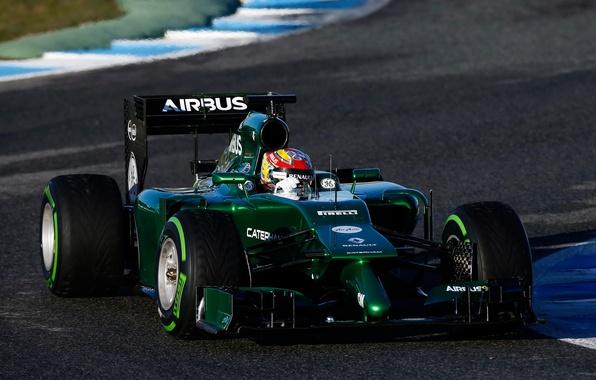 Picture sport, formula 1, Caterham, ct05