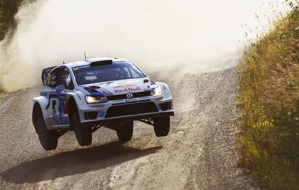 Picture Auto, Volkswagen, Speed, WRC, Rally, Rally, Polo, In The Air