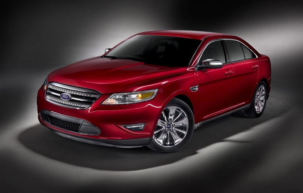 Picture red, Ford, taurus