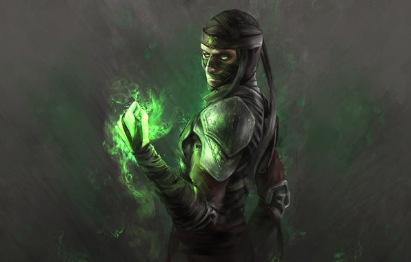 Wallpaper Ermac Mortal Kombat X H1fey Soul Master Images For