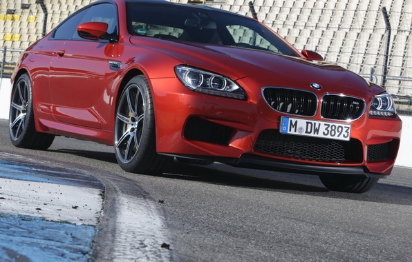 Picture red, BMW, BMW, Coupe, the front, Competition Package