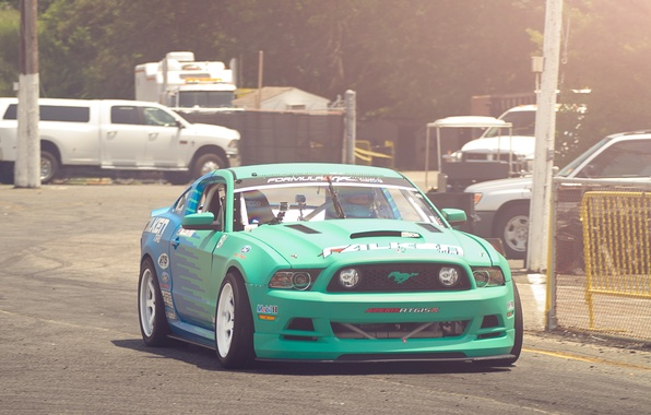Picture Mustang, Ford, Ford, Mustang, Formula D