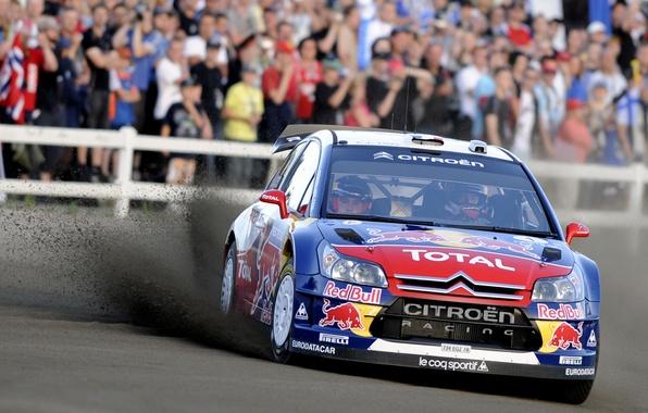Picture Sport, People, Citroen, Racer, Citroen, Rally, Rally, Sebastien Loeb, The front, Sebastien Loeb