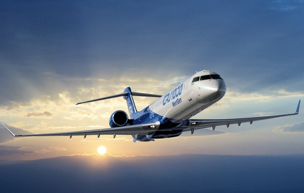 Picture Bombardier, New Aircraft, CRJ 1000 Next Gen