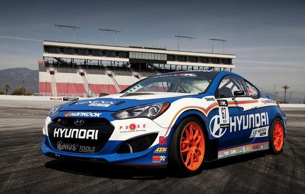 Picture tuning, Hyundai, track, Genesis, Hyundai, Coupe RMR