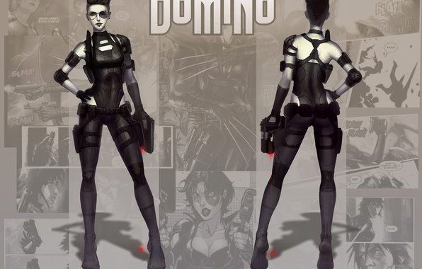 Picture Marvel Comics, Domino, Neena Thurman