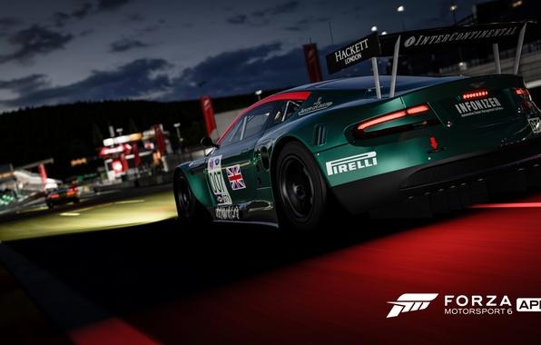 Picture Aston Martin, track, race, Forza Motorsport 6, Forza Motorsport 6: Apex