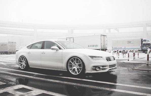 Picture Audi, Audi, black, Vossen