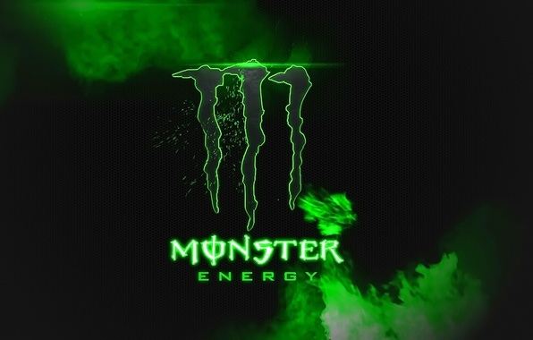 Picture logo, Monster Energy, brand, energetic