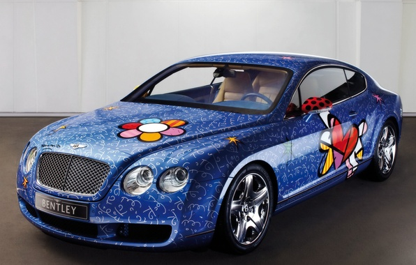 Picture auto, bentley, airbrushing