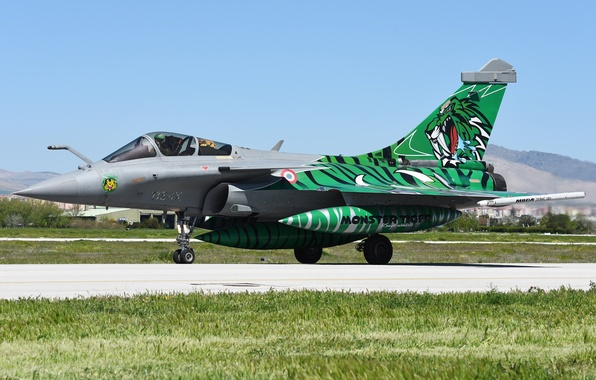 "Picture fighter, the airfield, multipurpose, Rafale, ""Rafale"""