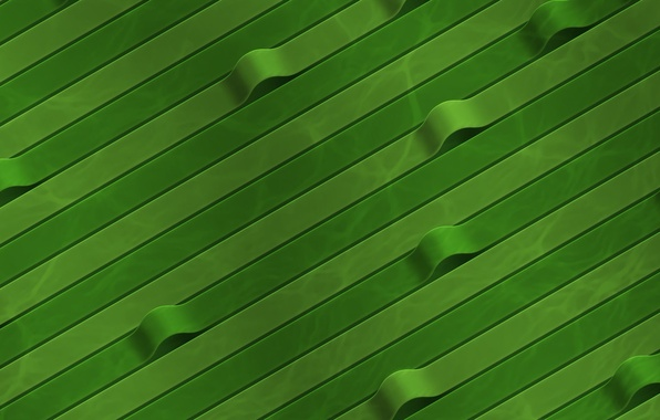 Picture green, tape, curves