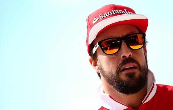 Picture glasses, Formula 1, Fernando Alonso, Alonso