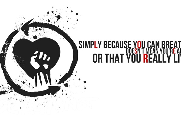 Wallpaper Music, Logo, Band, Punk Rock, Rise Against