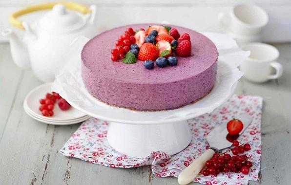 Picture raspberry, food, blueberries, cake, cake, fruit, cake, cream, dessert, currants, food, sweet, fruits, cream, dessert, …