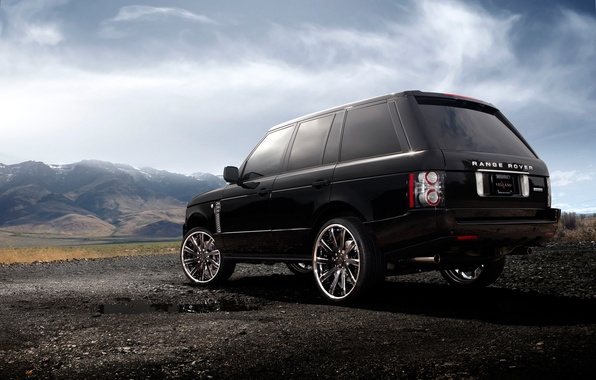 Picture Clouds, Auto, Mountains, Tuning, Machine, Land Rover, Range Rover, Landscape, Drives