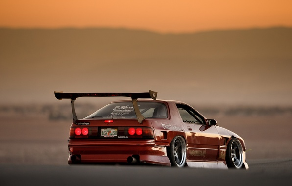 Picture Mazda, Drift, RX-7, JDM, cramps, FC3S