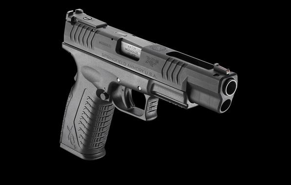 Photo Wallpaper Gun XDm Semi Automatic 45 ACP Springfield Armory