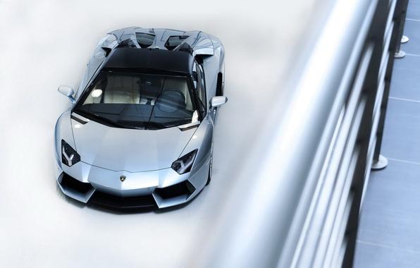 Picture the view from the top, Lamborghini, Lamborghini Aventador LP-700-4 Roadster