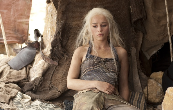 Picture actress, Game Of Thrones, Game of Thrones, Emilia Clarke, Daenerys Targaryen, Emilia Clarke, Daenerys Targaryen