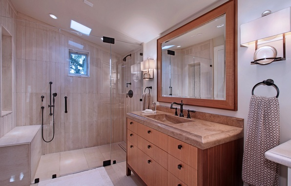 Picture design, photo, interior, mirror, bathroom