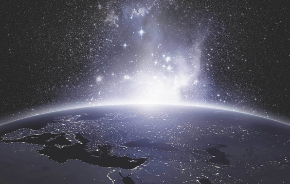 Picture light, planet, sci fi