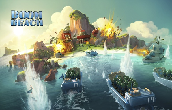 Picture the game, strategy, Boom Beach