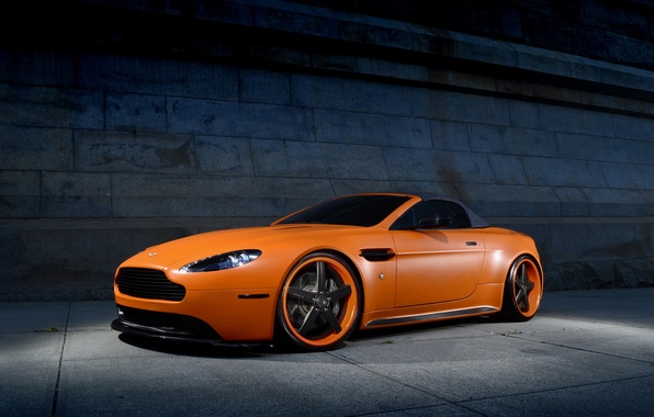 Picture car, Aston Martin, aston martin, vantage, roadster, rechange, hq Wallpapers