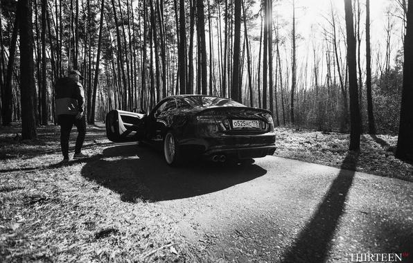 Picture machine, auto, forest, Audi, Audi, photographer, guy, auto, photography, photographer, Thirteen, Mark Litovkin, A5 Coupe