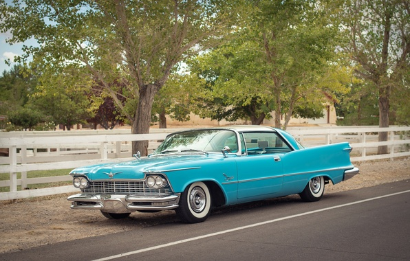Picture retro, Imperial, Chrysler, classic, the front, 1957