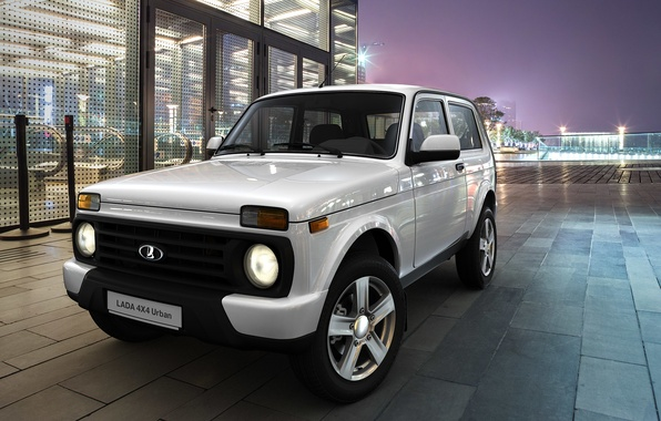 Picture SUV, car, megapolis, Urban, Lada, 4x4, LADA, Niva, VAZ, a best-seller., urban, equipment
