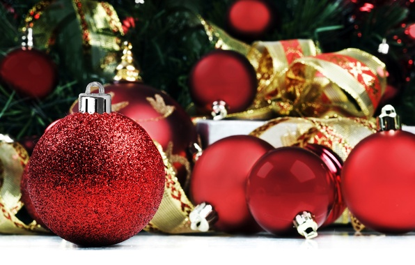 Picture balls, photo, mood, holiday, Wallpaper, new year, gifts, picture, Christmas decorations