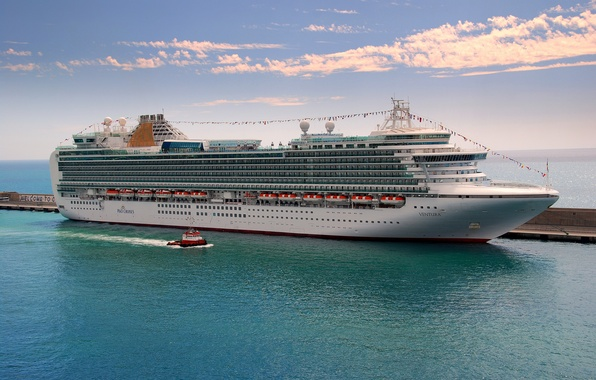 Picture sea, photo, ship, cruise liner