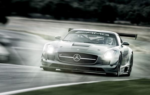 Picture Mercedes-Benz, supercar, 2012, Mercedes, AMG, GT3, AMG, C197, SLS 63, 45th Anniversary
