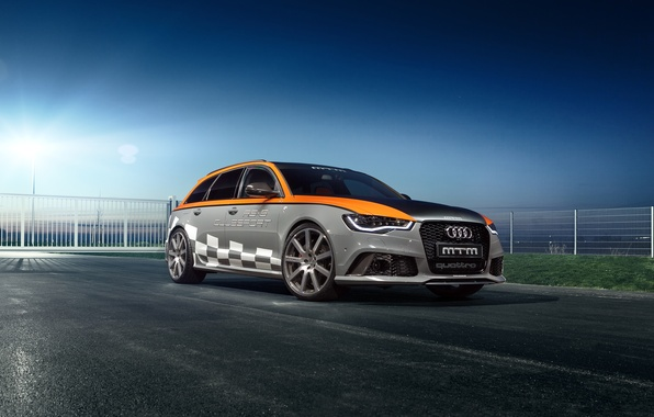 Picture Audi, Audi, Before, MTM, 2015, RS 6, Clubsport, avant