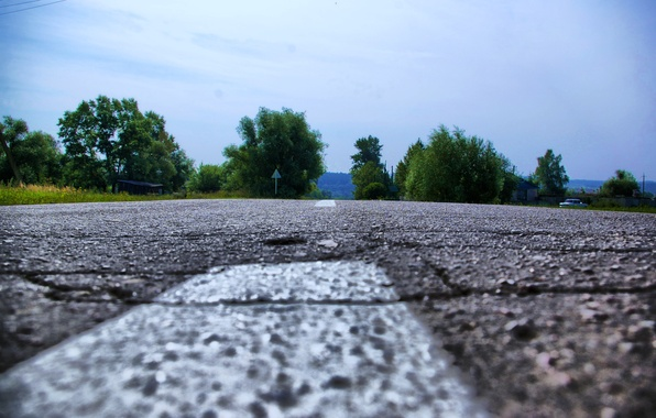 Picture road, asphalt, nature