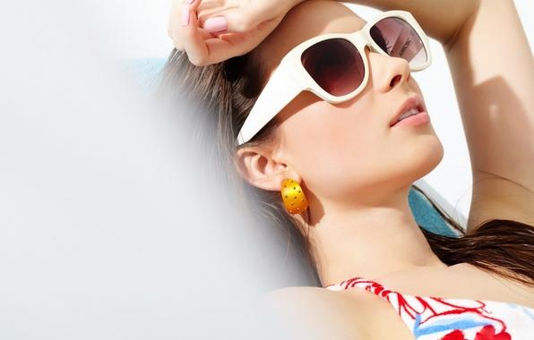 Picture sexy, woman, sunglasses