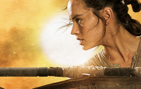 Picture girl, robot, star wars, The Force Awakens, Star wars. Episode VII: the Force awakens, Star …