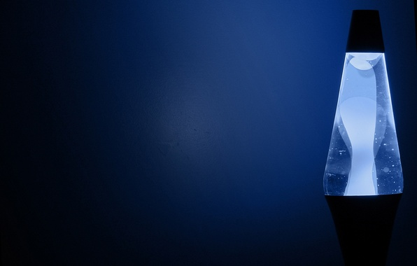 Picture blue, lamp, manga